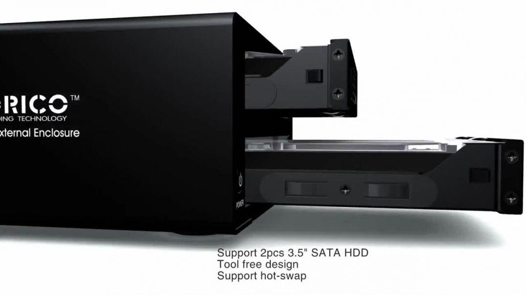 ORICO公司HDD外部RAID外壳